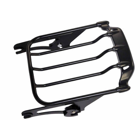 Bagger Brothers Detachable Spoiler Two-Up Luggage Rack - Fits 2009-2017 Harley-Davidson® FL Touring Models, Bagger Brothers