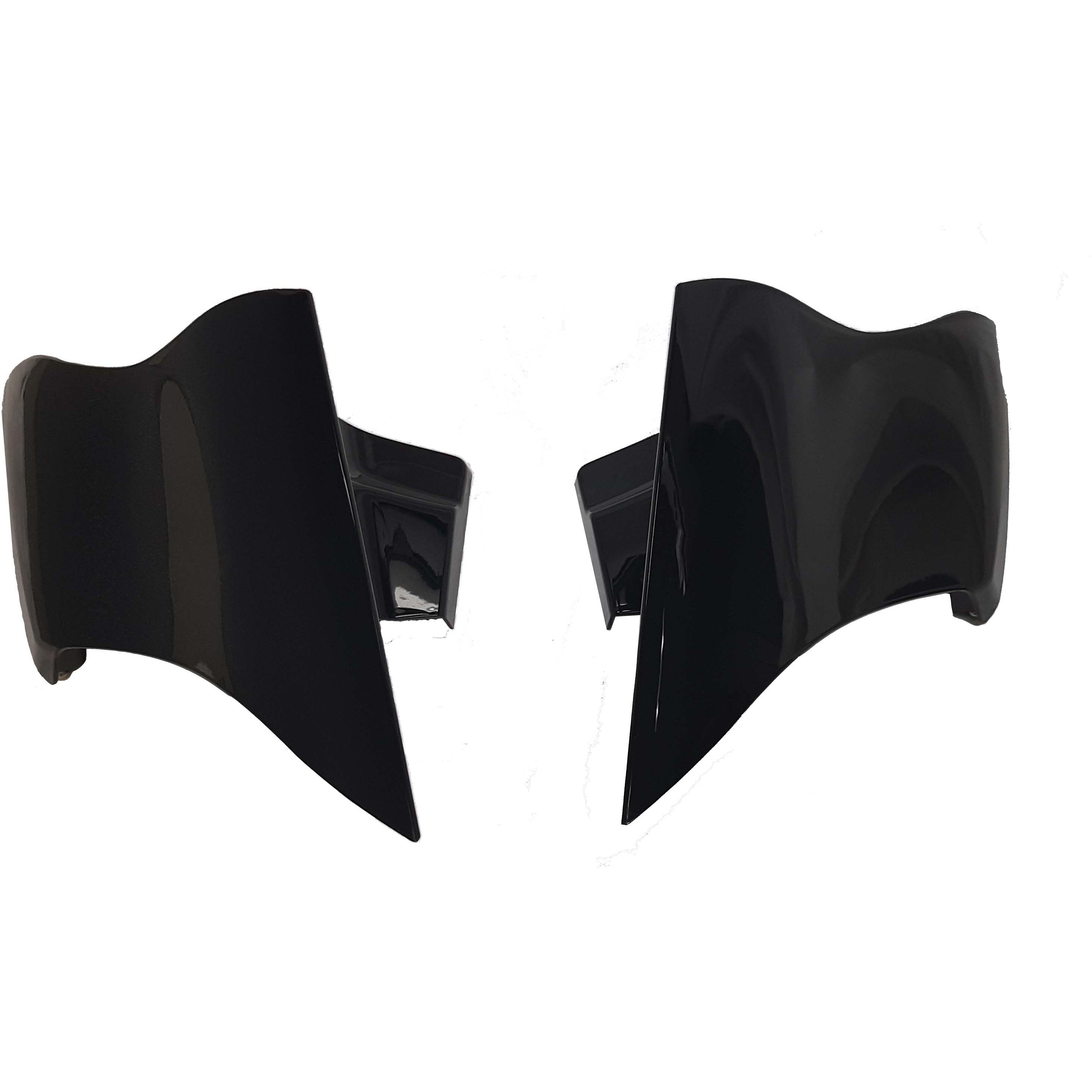 Davidson FLH Touring Models Bagger Brothers BB-HD1584-059B Vivid Black Inner Fairing with Switch Cap Kit for 1996-2013 Harley