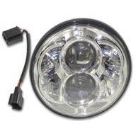 "Bagger Brothers Headlight 5.75"" Projection LED Chrome"