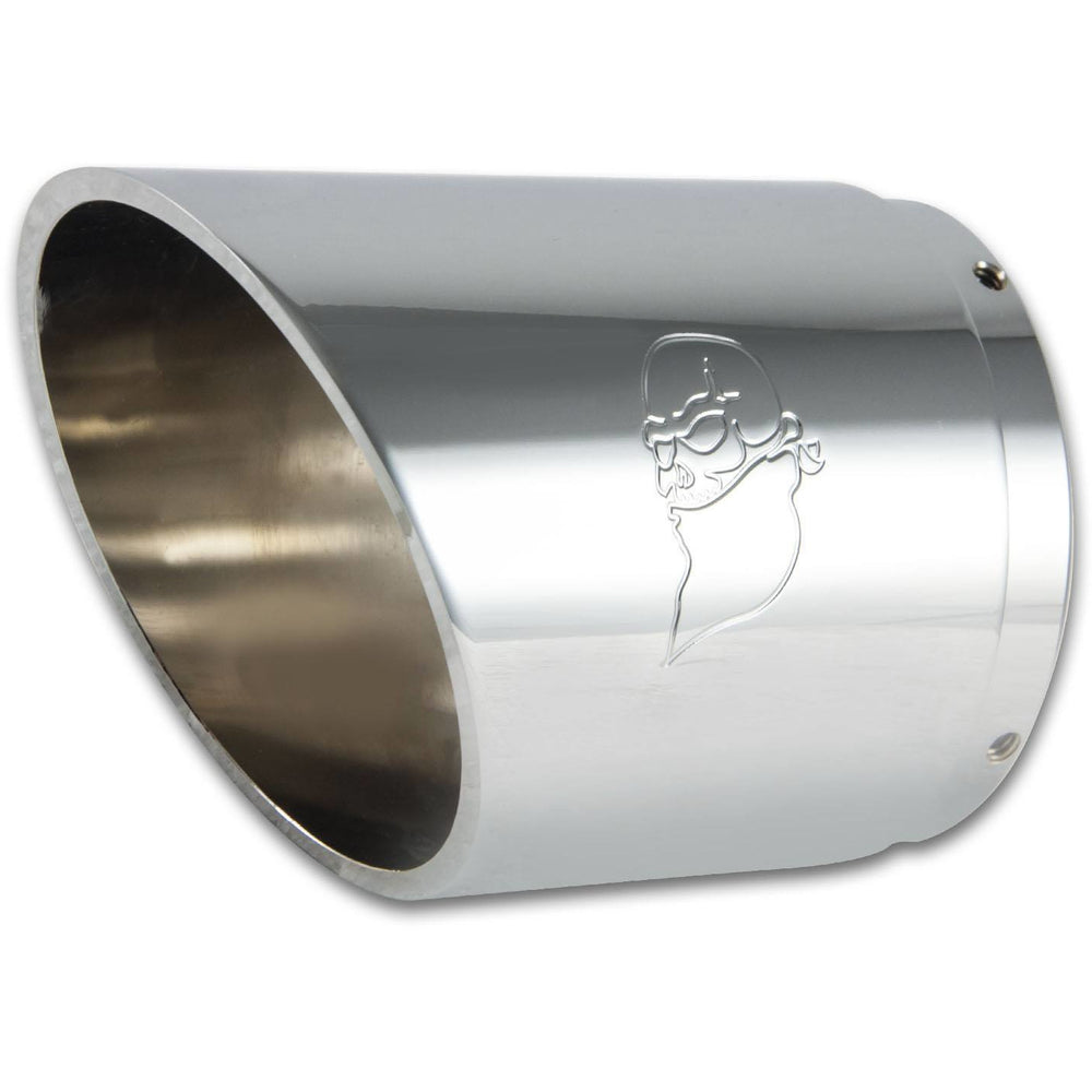 Bagger Brothers and Kory Souza Designed Exhaust Tip - For Python Rayzer Exhaust (Chrome)