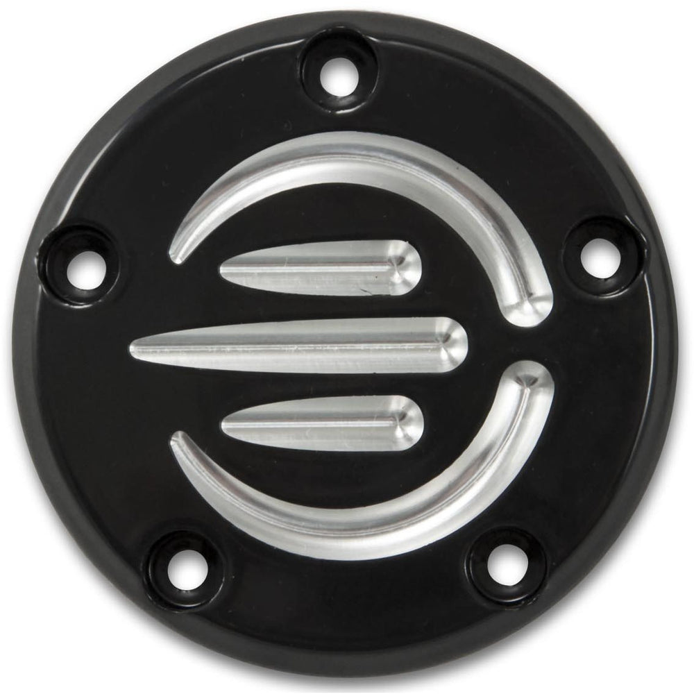 Bagger Brothers Billet Aluminum Points Cover (Black Anodized)