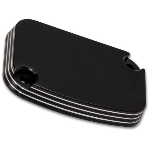 Bagger Brothers 2008-2016 Front Master Cylinder Cover Billet Aluminum / Black Anodized and Machined Finish, Bagger Brothers