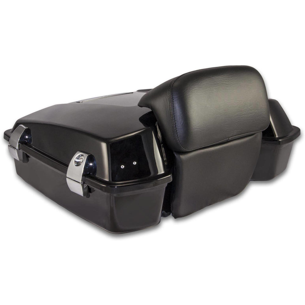 Bagger Brothers Razor-Style Tour Pak with Chopped Backrest for 1996-2013 Harley-Davidson® Touring Models