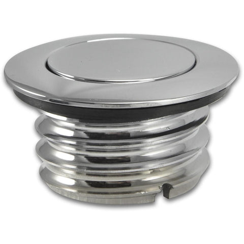 Bagger Brothers Gas Cap Vented Pop-Up Chrome 1996-2016 Fitment