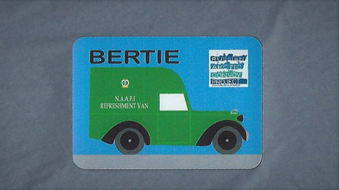 Bertie Fridge Magnet