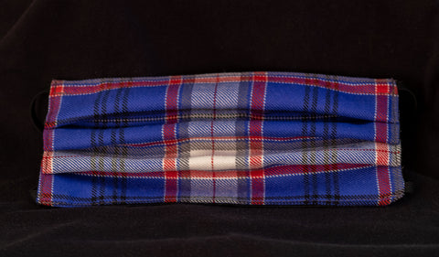 Face Mask with neck straps Russian Arctic Convoy Tartan