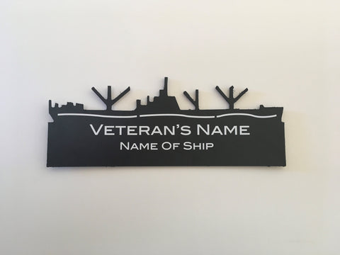 Purchase & Sponsor a Ship Silhouette