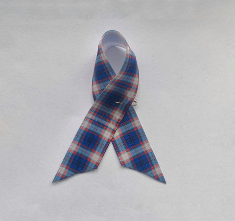 Awareness Ribbon Russian Arctic Convoy Tartan