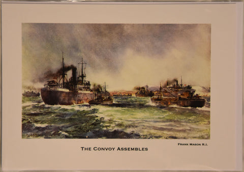 The Convoy Assembles - Individual Christmas Card