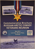 Commemorative Brochure Russian Arctic Convoy Veterans Reunion