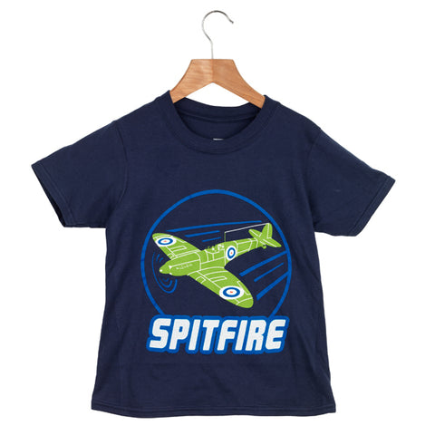 Kids Spitfire Glow In The Dark T-Shirt