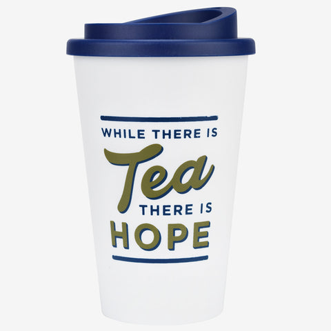 While There Is Tea There Is Hope Travel Mug