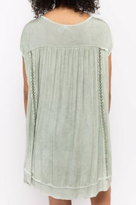 Kelly's Drop Shoulder High Low Top