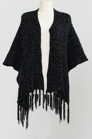 Chenille and Fringe Ruanna 4 Colors