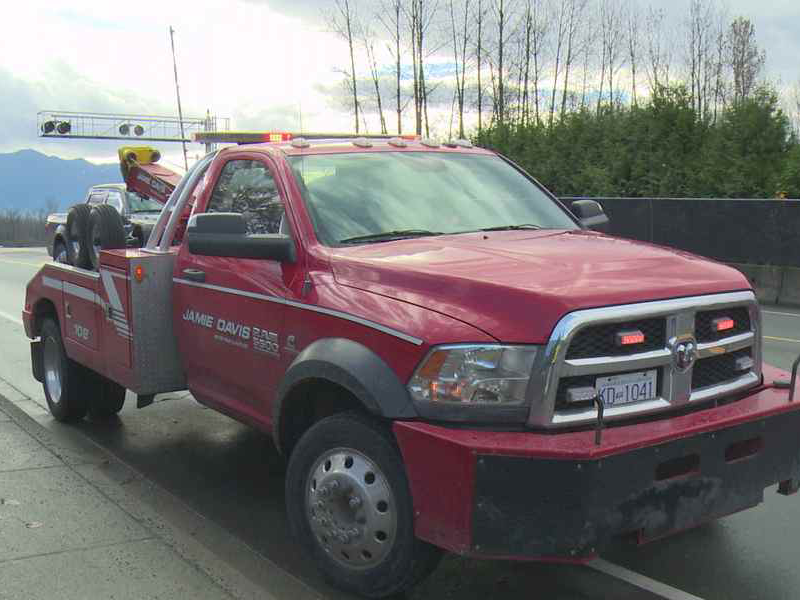 Hope, Surrey, And Chilliwack Towing Company   Jamie Davis Towing
