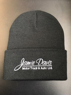 Black Roll Up Toque