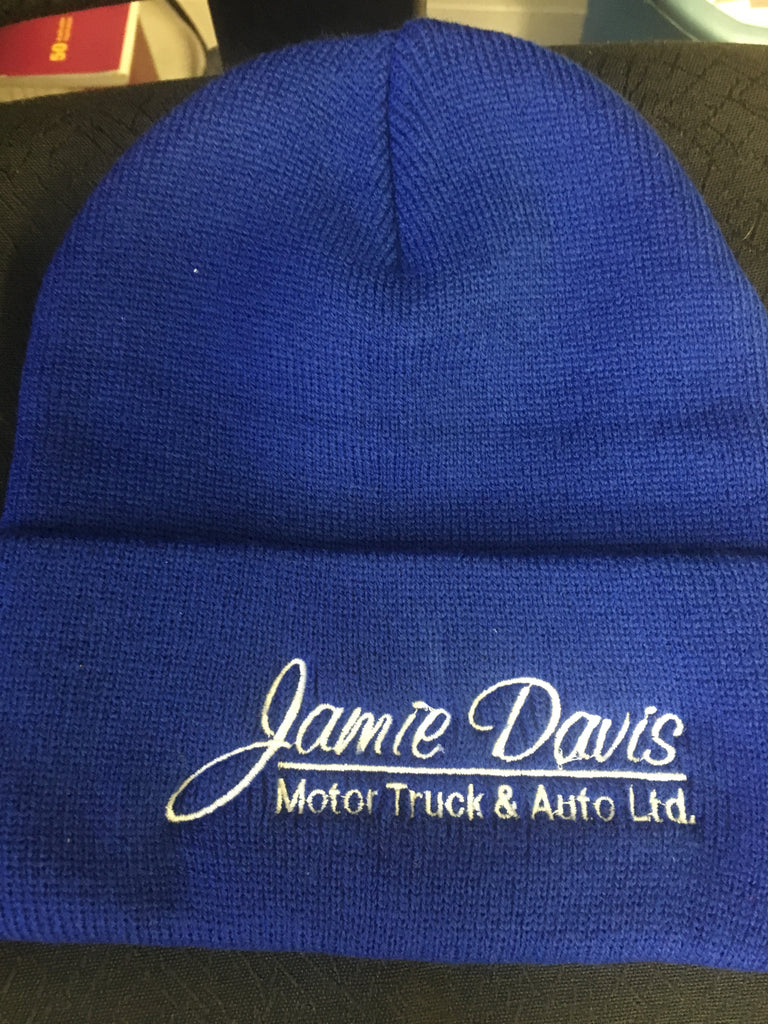 Royal Blue Roll up toque