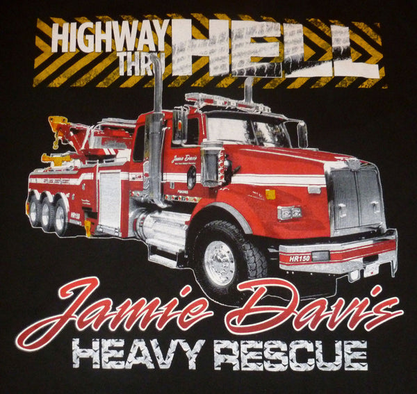 Jamie Davis Heavy Rescue T-Shirt