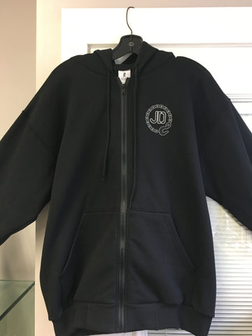 Zip up Hook Hoodie