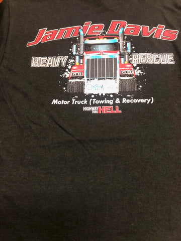 Jamie Davis Kenworth Heavy Rescue T-Shirt