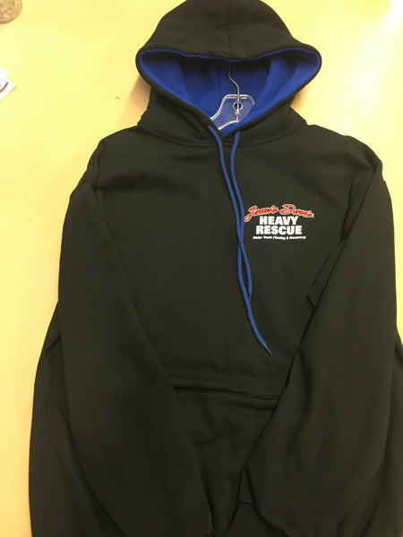 Jamie Davis HR150 Pull Over Hoodie Royal Blue