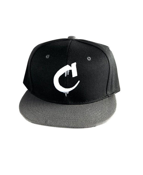 """C"" Logo Hat Available in the color(s) Black/Silver"