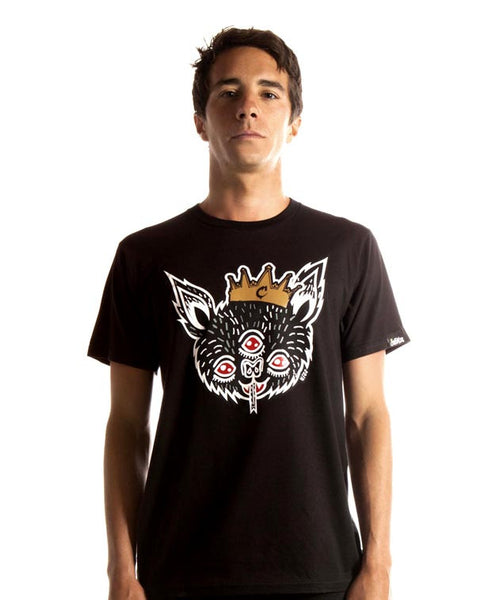 Demon Black Tee by HISS