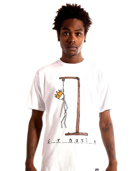 Hangman Tee in White