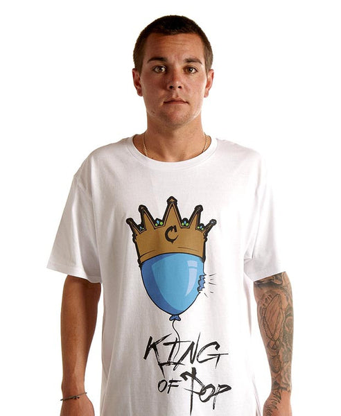 King of Pop Tee in White