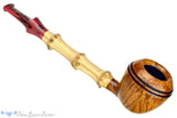 Blue Room Briars is proud to present this Ian Nicol Pipe Bamboo Shank Rhodesian