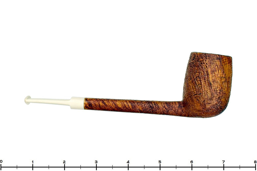 Blue Room Briars is Proud to Present this Ian Nicol Pipe High Contrast Sandblast Pencil Shank Lovat with Juma