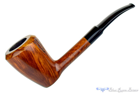 Wenhall Dane Craft Smooth Sitter Freehand with Plateau Estate Pipe