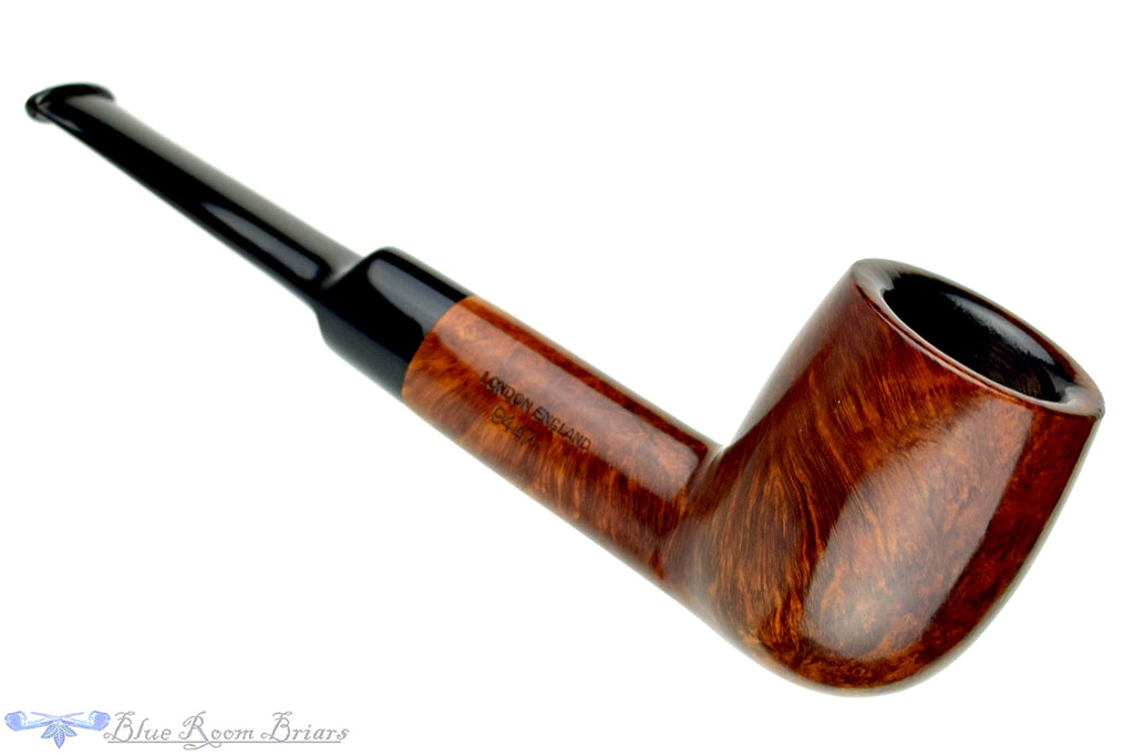 Blue Room Briars is proud to present this GBD Virgin 9447 Billiard Sitter with Replacement Stem Estate Pipe