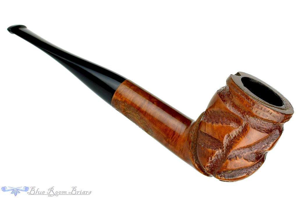Blue Room Briars is proud to present this Mayfair (Sasieni 2nd) Large Carved Billiard Estate Pipe