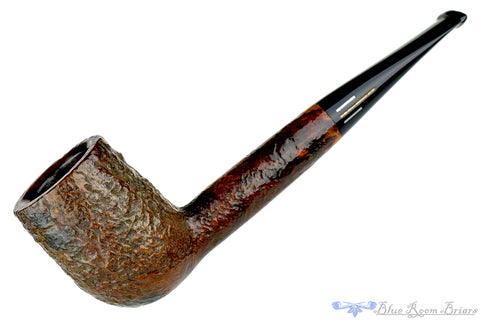 Dunhill 75th Anniversary Duke Street 1 (1985 Make) Bent with Silver and Military Mount UNSMOKED Estate Pipe