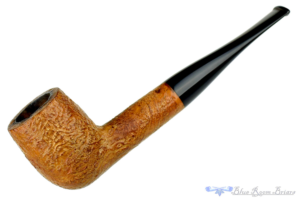 Blue Room Briars is proud to present this Savory's Ludlow 95 Tan Blast Billiard Sitter Estate Pipe