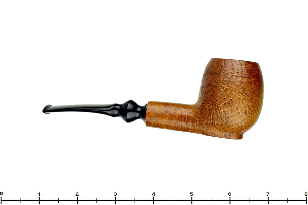Blue Room Briars is proud to present this C.B. Perkins Antique Sitter Tan Blast Egg Estate Pipe