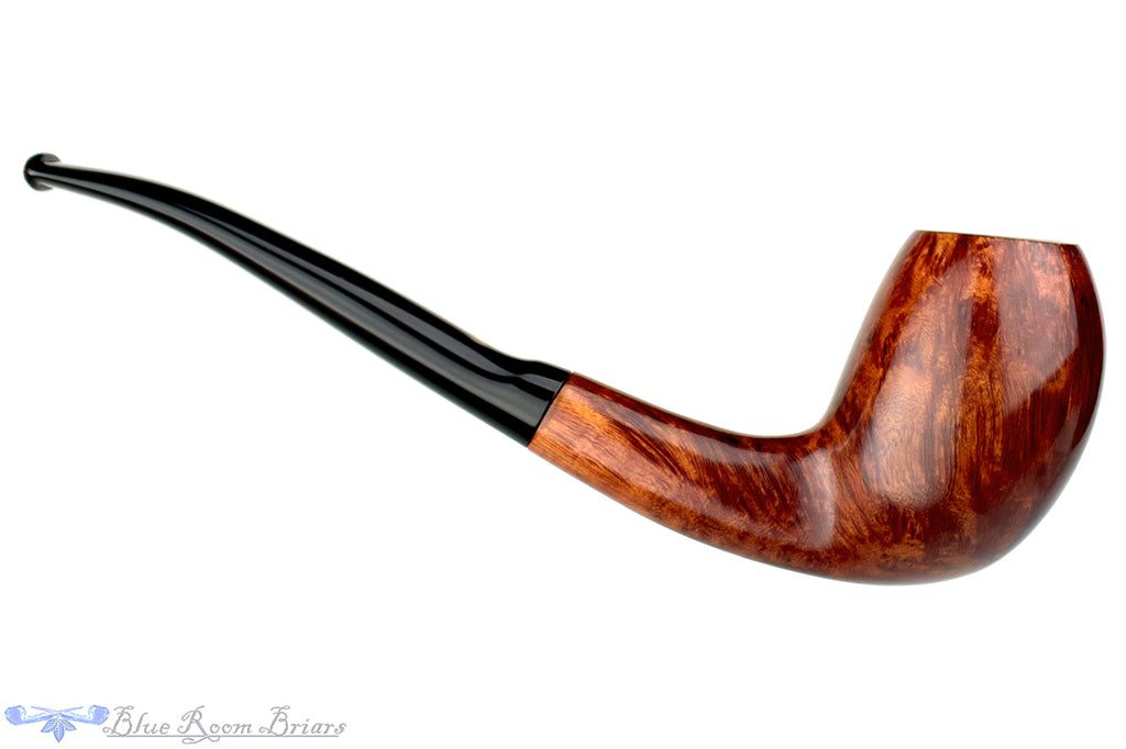 Blue Room Briars is proud to present this Andrew Marks (1986 Make) 1/4 Bent Egg with Half Saddle Estate Pipe