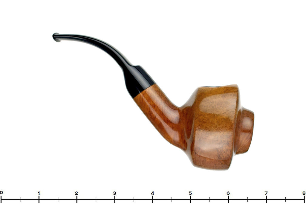 Blue Room Briars is proud to present this Andrew Marks (1974 Make) 1/2 Bent Freehand Shield Estate Pipe