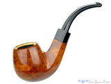 Blue Room Briars is proud to present this Pioneer 300 1/2 Bent Diamond Shank Apple with Meerschaum Estate Pipe