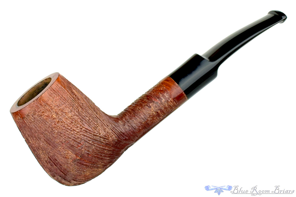 Blue Room Briars is proud to present this Whitehall Pin Stripe Brandy Sitter Estate Pipe