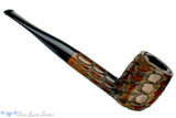 Blue Room Briars is proud to present this CK Co Carved Billiard Estate Pipe
