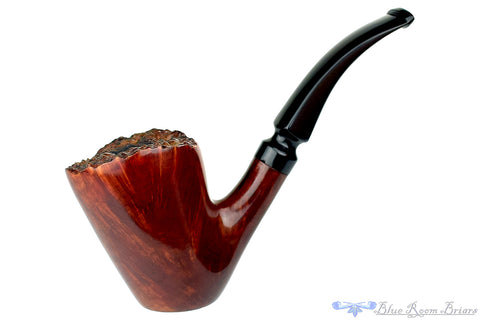 IMP Meerschaum Large Lovat with Custom Case Estate Pipe