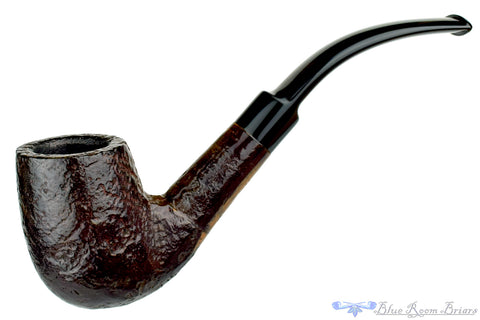 Minorca Carved 3/4 Bent Billiard Estate Pipe