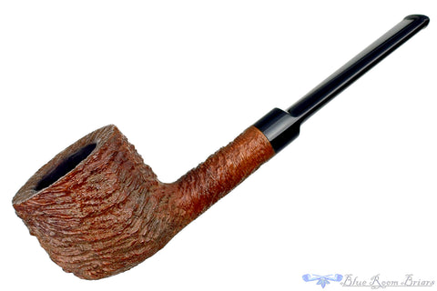 Square Shank Bent Pear Sitter Estate Pipe