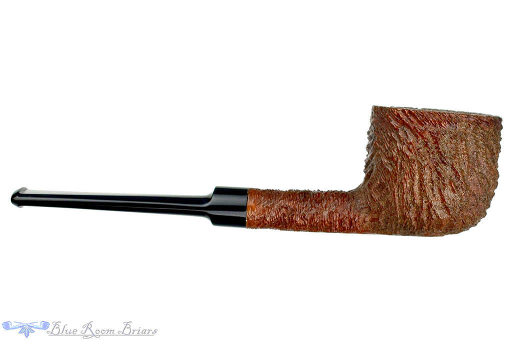 Blue Room Briars is proud to present this Duncan Antique 184 Rusticated Pot Sitter Estate Pipe