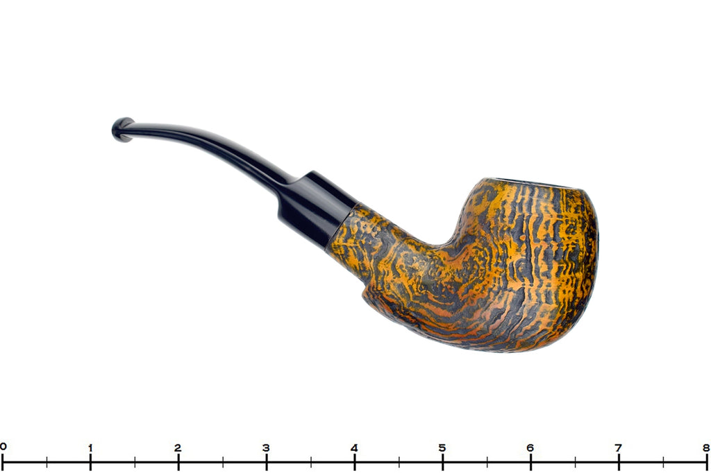 Blue Room Briars is proud to present this Lorenzo Tigre 1/4 Bent Sandblast Freehand
