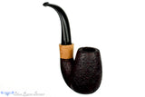 Blue Room Briars is proud to present this Thomas James Pipe Large Sandblast Oom Paul Sitter with French Boxwood