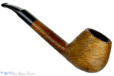 Blue Room Briars is proud to present this CK Co1/8 Bent Brush Carved Brandy Estate Pipe