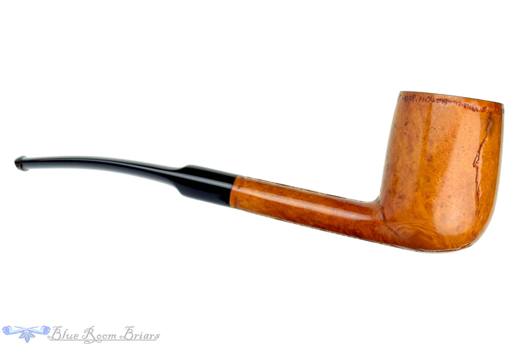 Blue Room Briars is proud to present this Savinelli Sherwood Rock Briar 811 1/8 Bent Oval Shank Billiard Estate Pipe